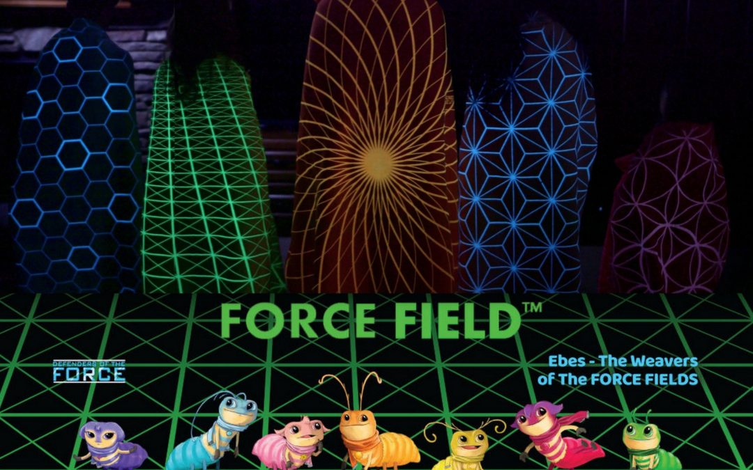 Force Field™ Cloaks, Fear Of The Dark Is Now Fun In The Dark.